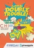 Вечеринка «Fryday Afterwork. Double Trouble» в клубе «CHI by Decadence House»