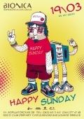 Вечеринка «Happy Sunday» в клубе «Bionica»