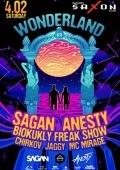Вечеринка «Wonderland» в клубе «Saxon»
