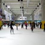 Ледовая арена в ТЦ «Космополит»