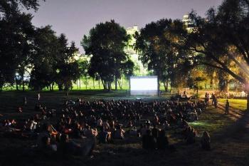 Открытие сезона кинотеатра «Park Cinema»