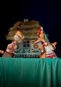 Спектакль «Котик та Півник» в театре кукол