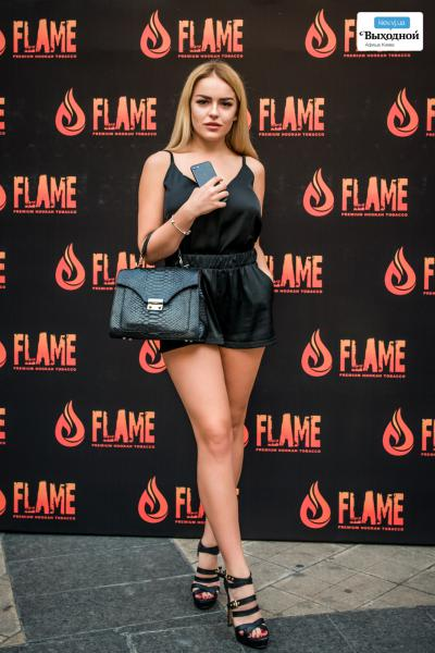 Презентация эксклюзивного табака «Flame»