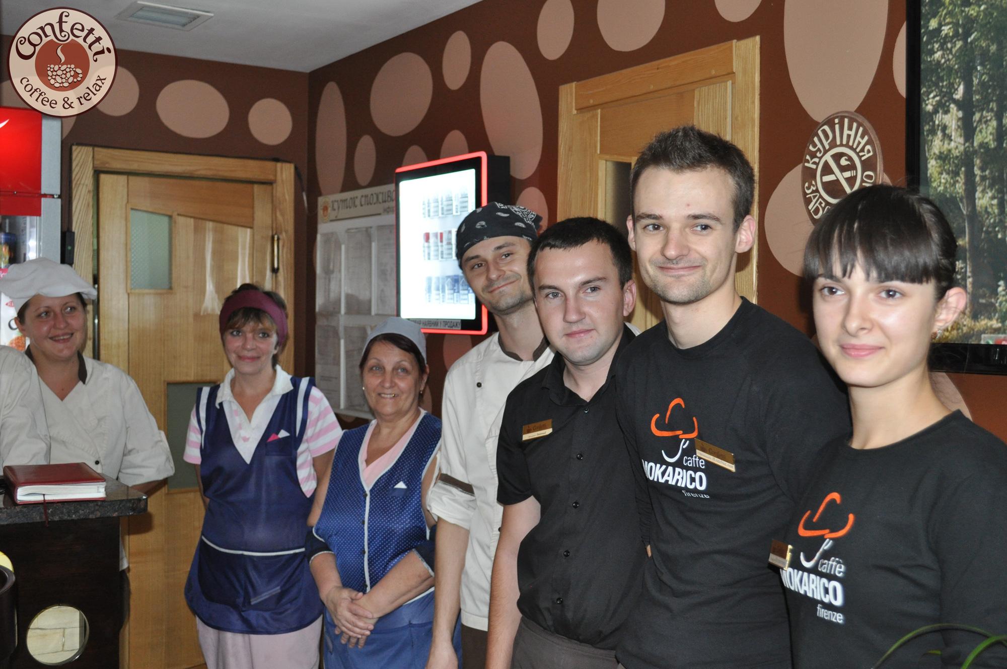 Confetti на Героев,1м – лучший ресторан Августа!