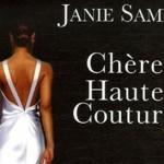 Жани Саме с книгой «Высокая мода»