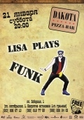 Lisa plays Funk  @ DAKOTA pizza-bar