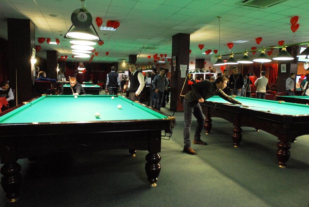 Турнир в Бильярдном клубе «Авиатор»