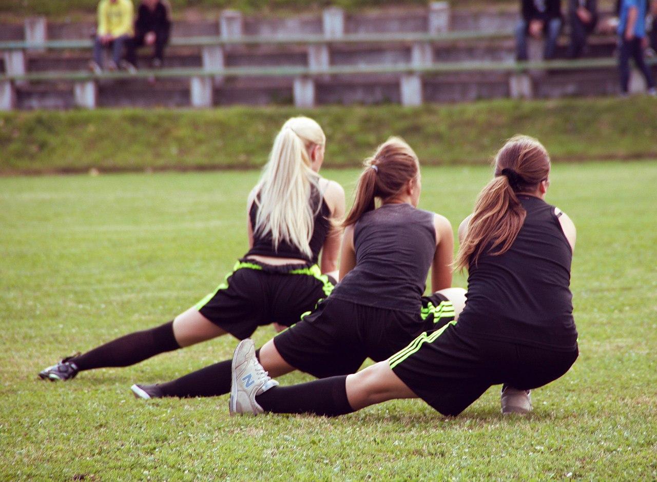 Благотворительный женский футбольный матч