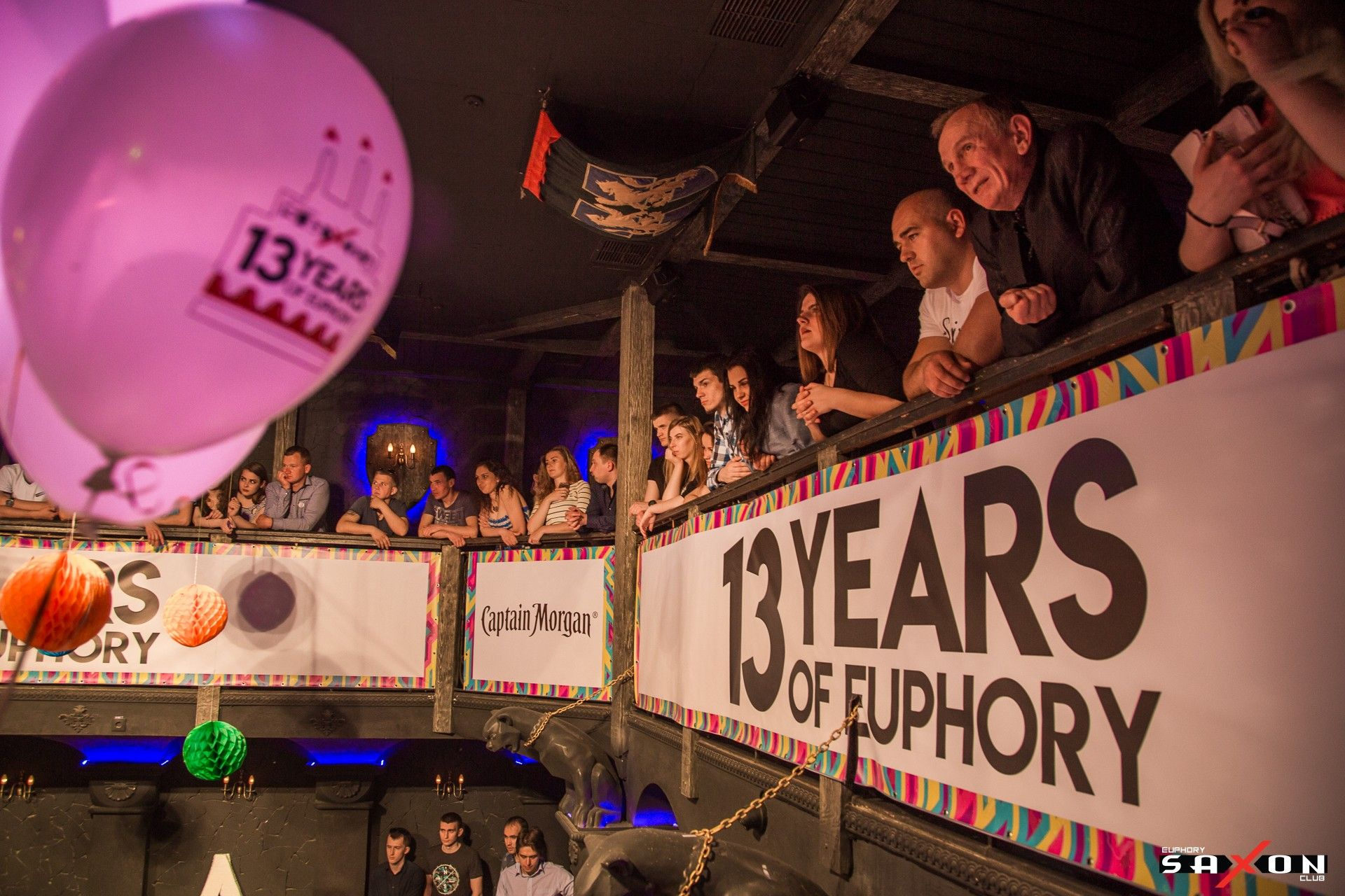 Вечеринка «13 Years Of Euphory» в клубе «Saxon»
