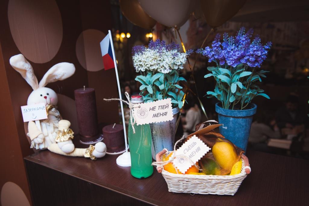 Безумное Чаепитие в честь Дня Рождения Confetti на пр. Героев, 1м!
