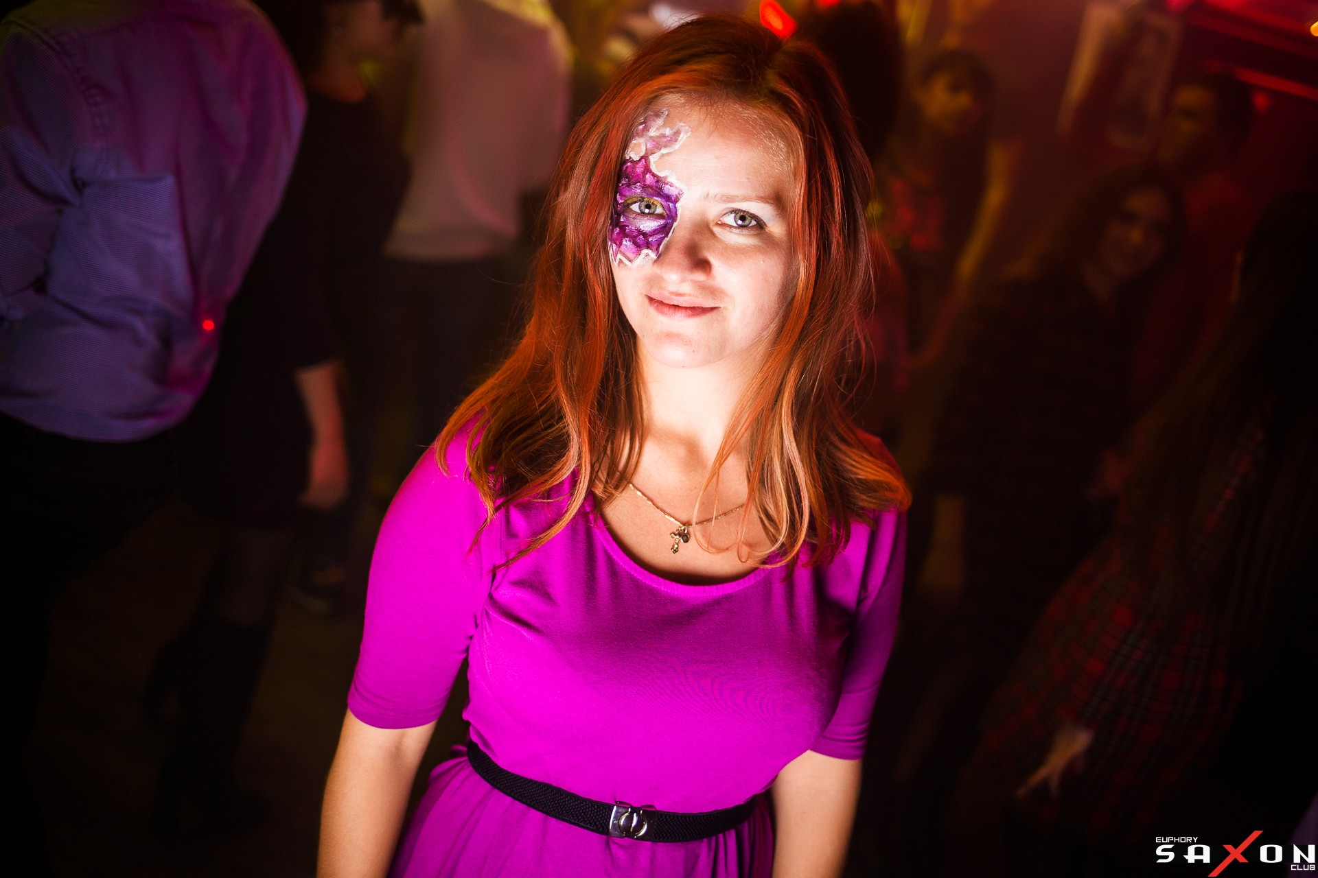 Вечеринка «Halloween. Carnival» в Saxon