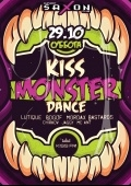 Вечеринка «Kiss Monster Dance» в клубе «Saxon»