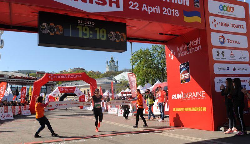 Nova Poshta Kyiv Half Marathon Weekend 2018