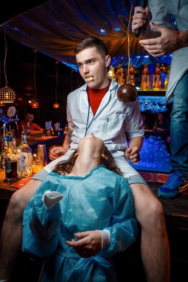 «АлкоХимия. Анатомия Страсти!» в «Saxon»