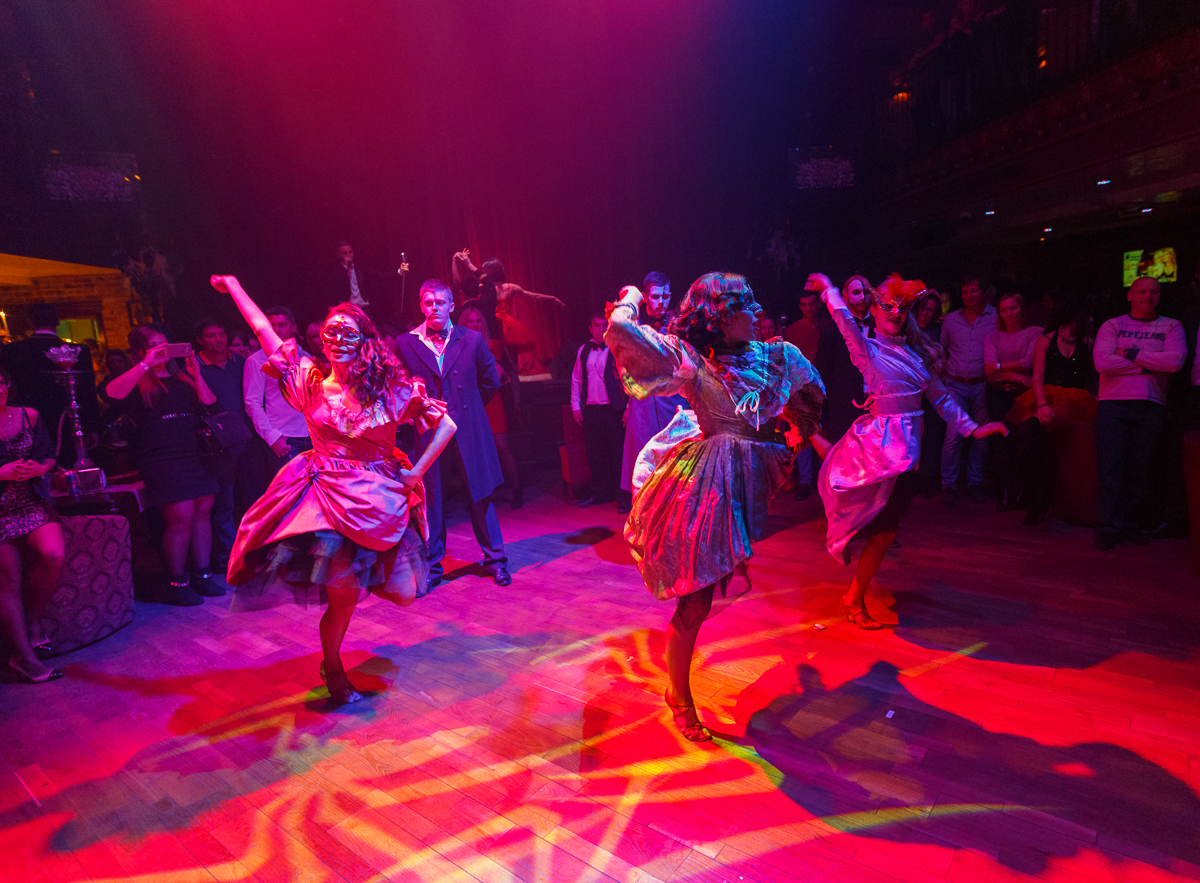«Призрак оперы» в «Caribbean Club»